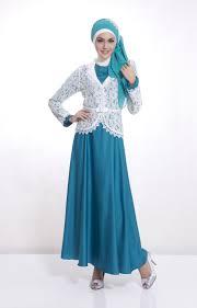 Model Baju Muslim Brokat Untuk Remaja Terbaru