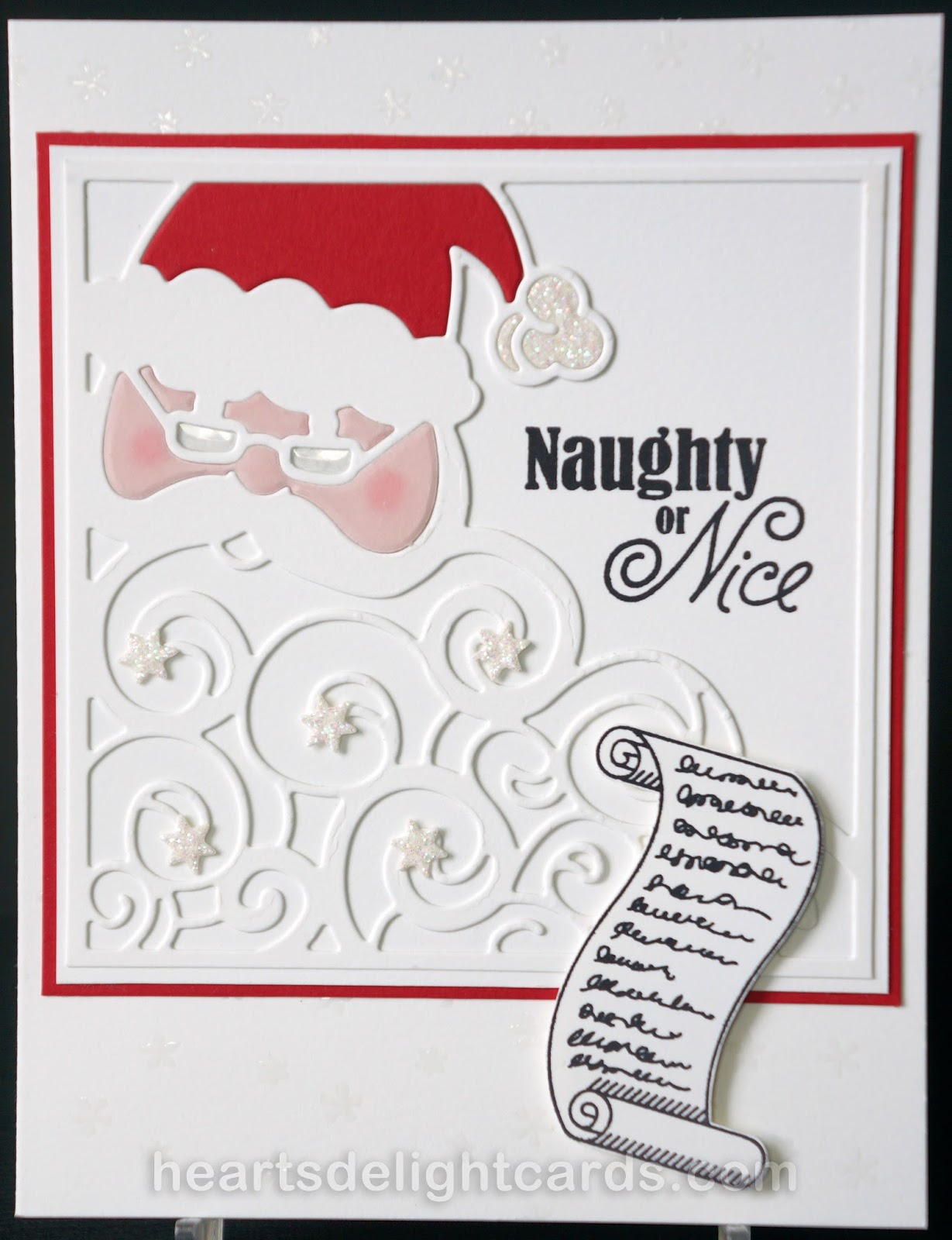 Hearts Delight Cards Greetings From Santa Holiday Sneak Peek