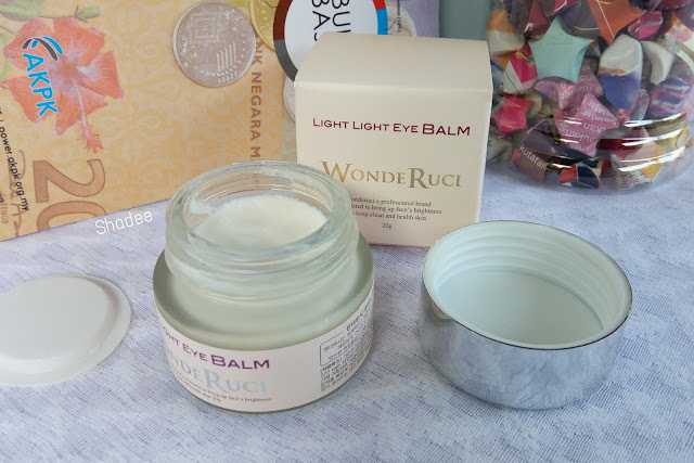 Wonde Ruci Light Light Eye Balm