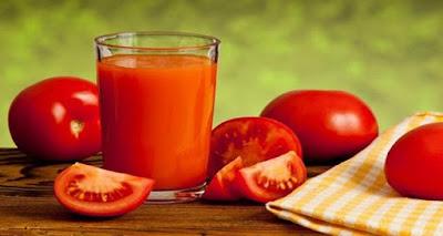 عصير-الطماطم