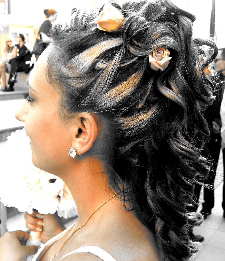 Modern Wedding Hairstyles For The Cool Contemporary Bride: Modern Wedding Hairstyles