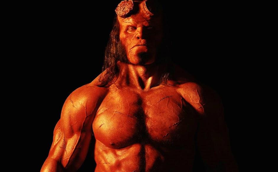 """Revelada a primeira imagem de David Harbour como """"Hellboy"""""""
