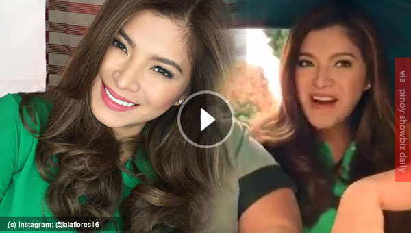 Watch: Angel Locsin uses own singing voice on her latest TV ad