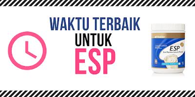 Waktu Terbaik Untuk Energizing Soy Protein (ESP)