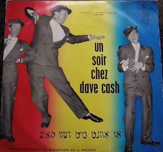Yiddish cabaret singer Dave Cash
