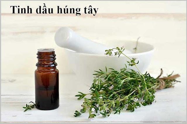 Tinh dầu húng tây trị rụng tóc