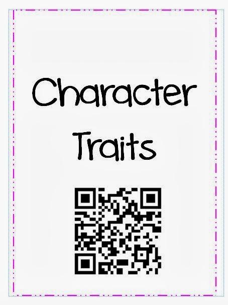 Jennifer's Teaching Tools: Character Traits