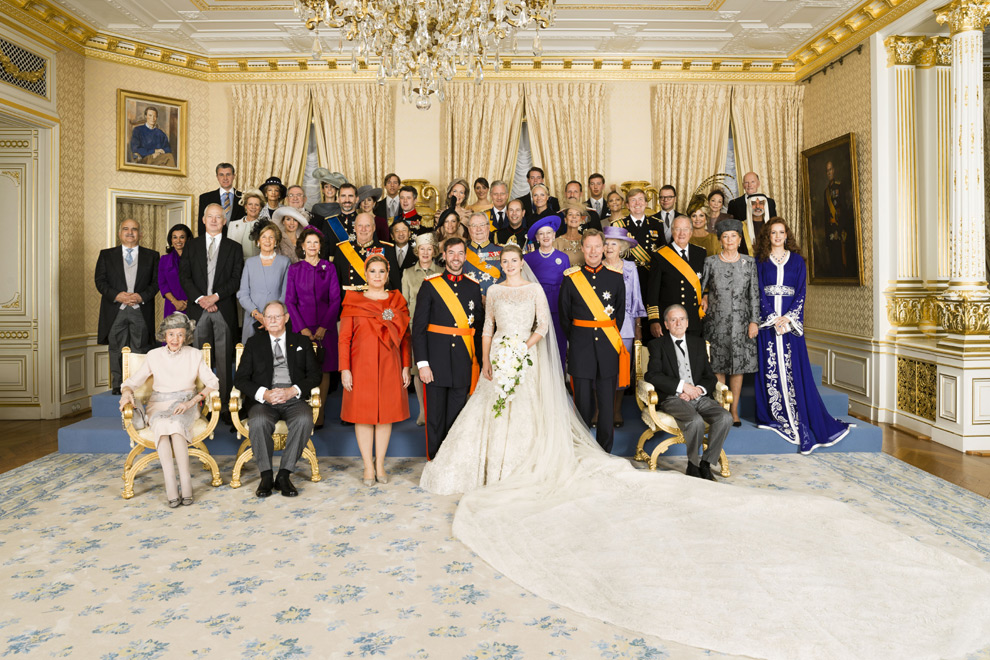 Royal Wedding Dresses Stephanie Of Luxembourg