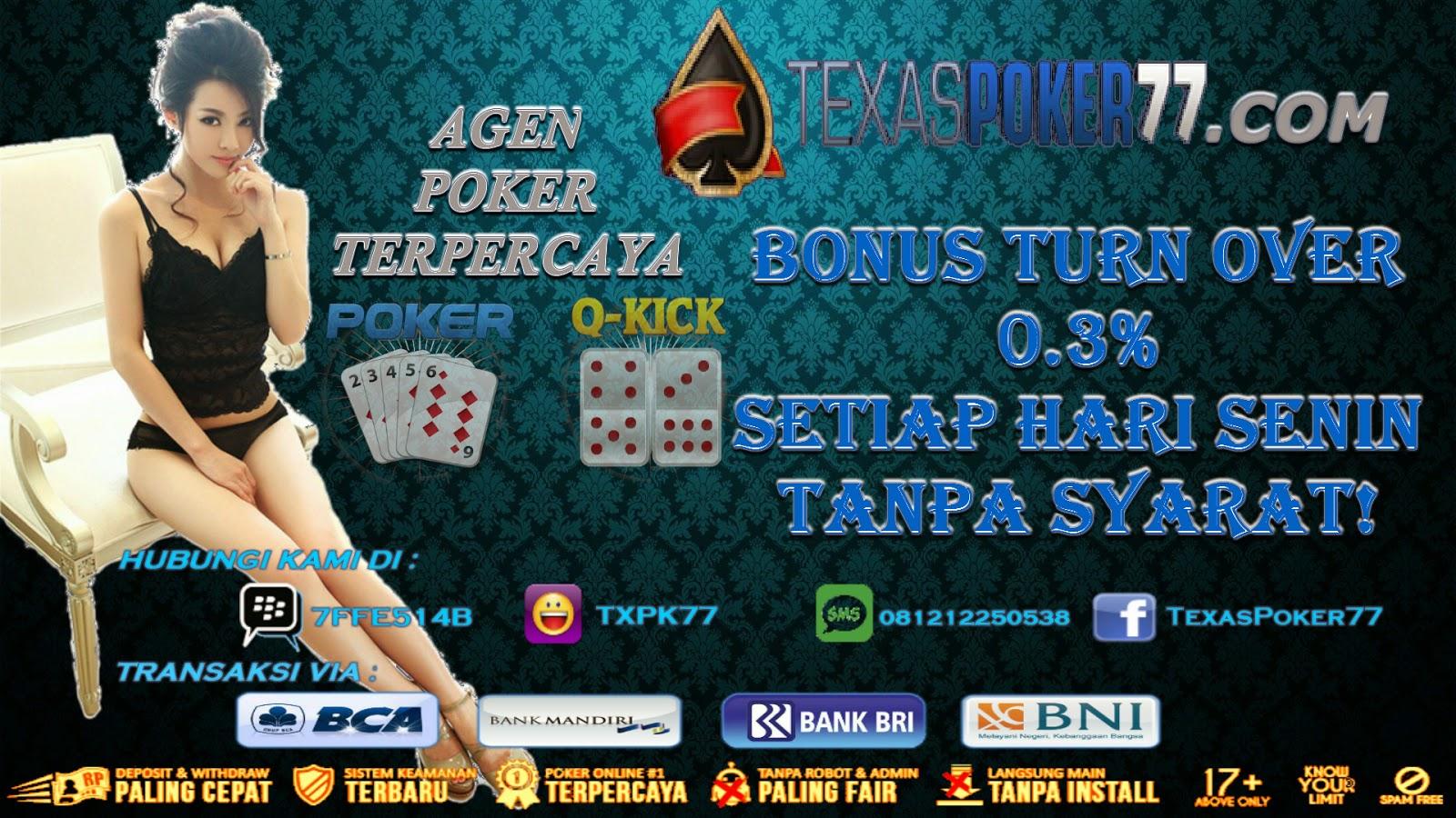 Texas Bookie Cara Melakukan Deposit Di Judi Poker Online Indonesia Texaspoker77 Com