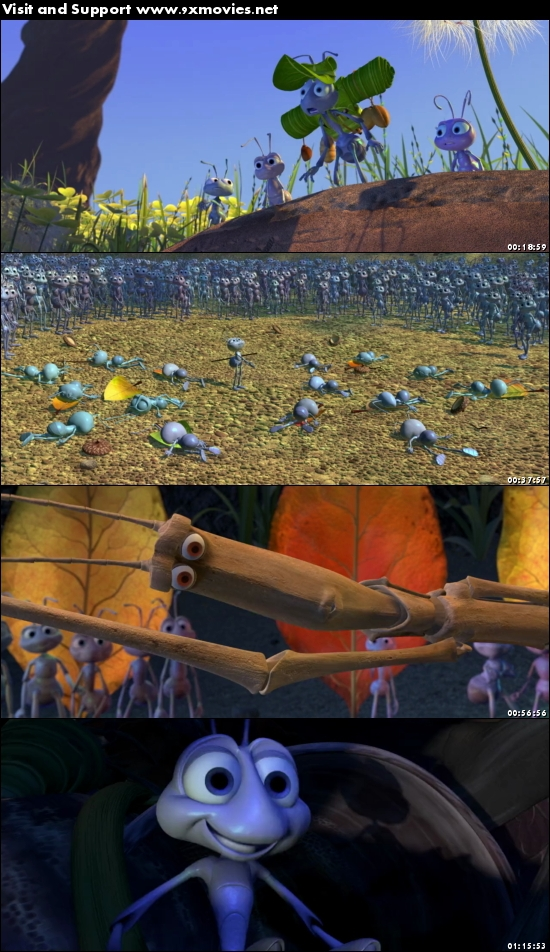 A Bugs Life 1998 Dual Audio Hindi 720p BluRay