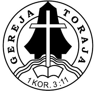 Logo Gereja Toraja Hitam Putih