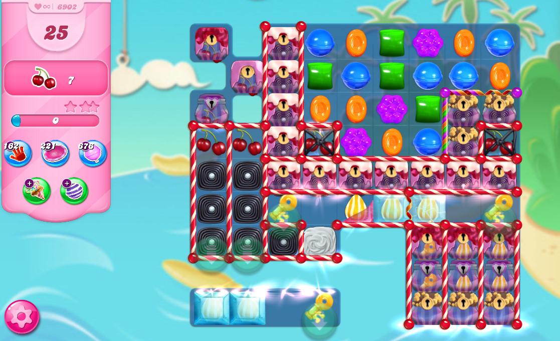 Candy Crush Saga level 6902