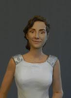 statuine torta nuziale matrimonio milano ritratto sposa orme magiche