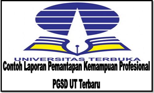 Contoh Laporan Pemantapan Kemampuan Profesional PGSD UT Terbaru