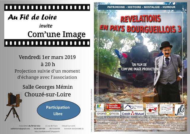 Présentation des Révélations en Pays Bourgueillois 3 à Chouzé-sur-Loire