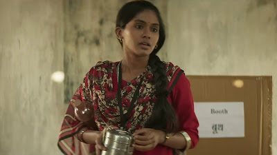 Anjali Patil HD Image Of Newton Movie