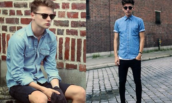 Macho Moda - Blog de Moda Masculina: Camisa Jeans Masculina, pra inspirar!  (Necessária em nossos armários)