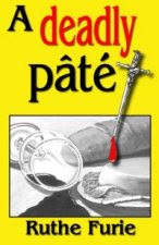 a deadly pate, ruthe Fuuurie, book cover, illustration,  illustrator, artist jillian,  Jillian Crider, murder mystery,