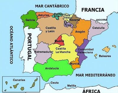 espacio geográfico español