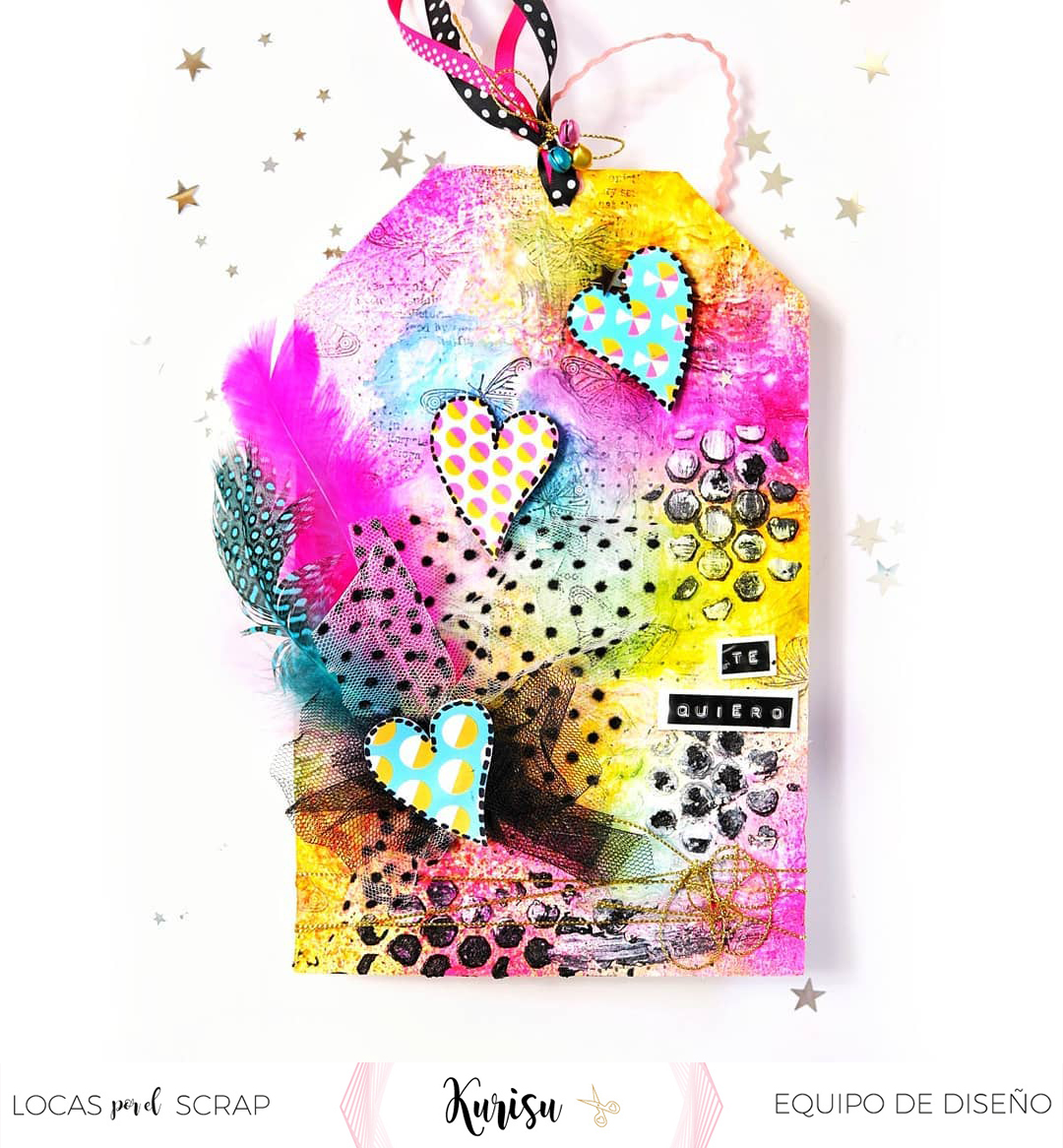 Tag mixed media holasoykurisu locas por el scrap
