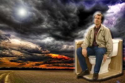 Al Bundy sitzt auf klo