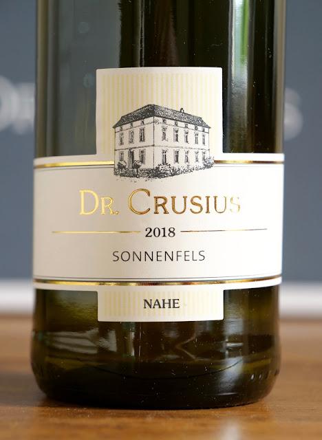 Riesling Sonnenfels Weingut Dr. Crusius in Traisen an der Nahe.
