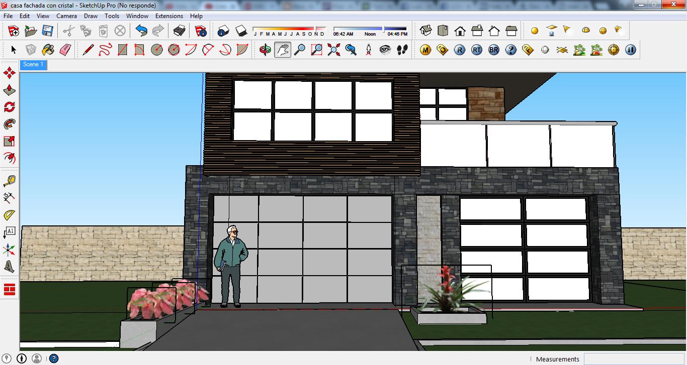 Sketcheroxd casa modelo 3d para sketchup for Modelo de casa en 3d