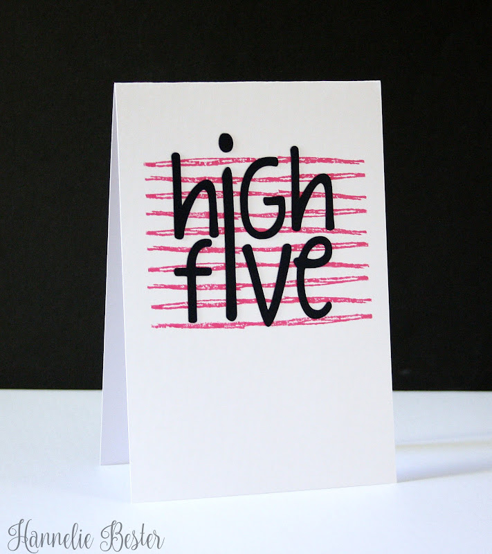High five CAS card