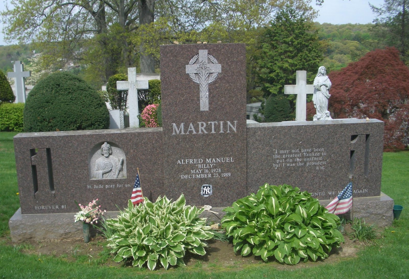 billy martin grave - photo #13