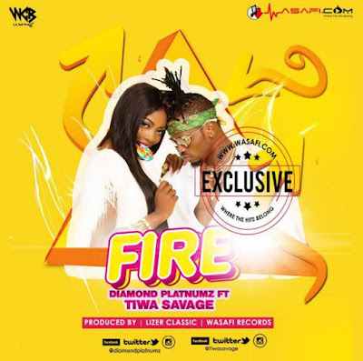 AUDIO | Diamond Platnumz Ft. Tiwa Savage - Fire| [official song]