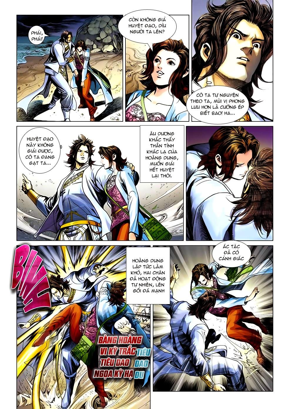 Anh Hùng Xạ Điêu anh hùng xạ đêu chap 54: kiếp hậu dư sinh thiến nữ kỳ mưu trang 9