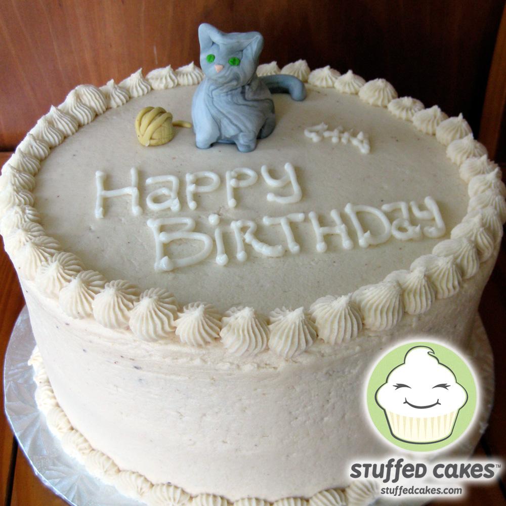 Stuffed Cakes Kitty Cat Cake