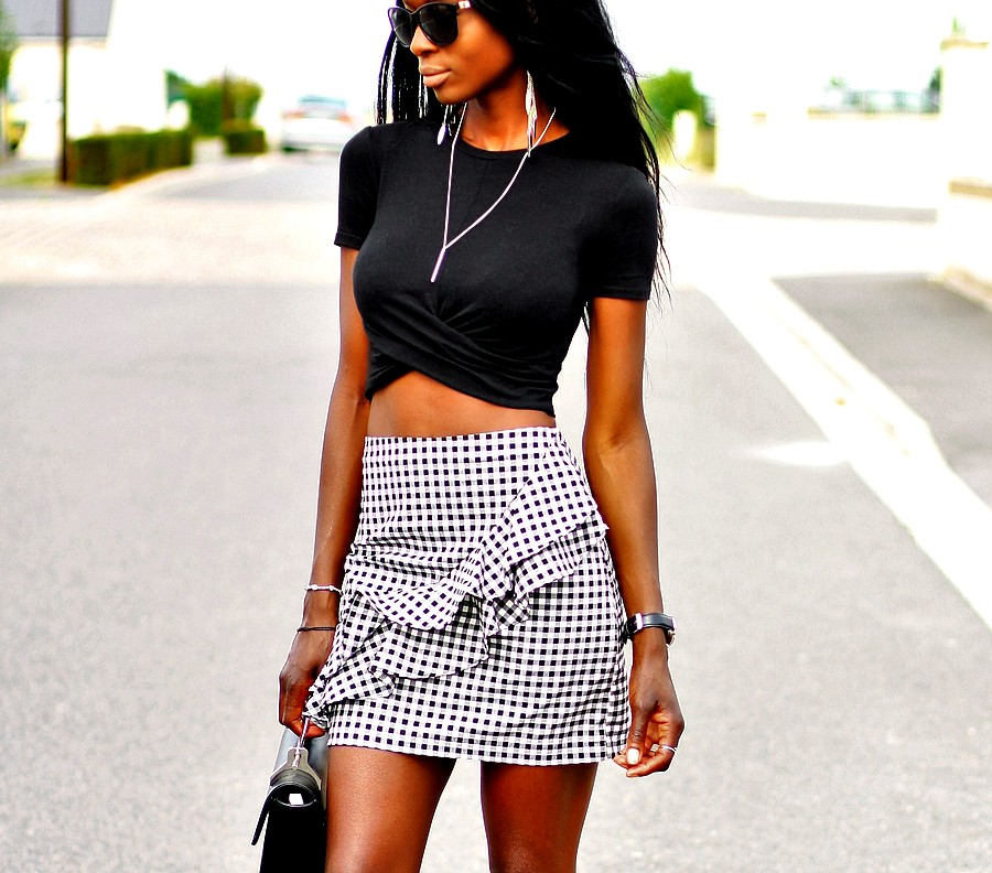 jupe-vichy-crop-top