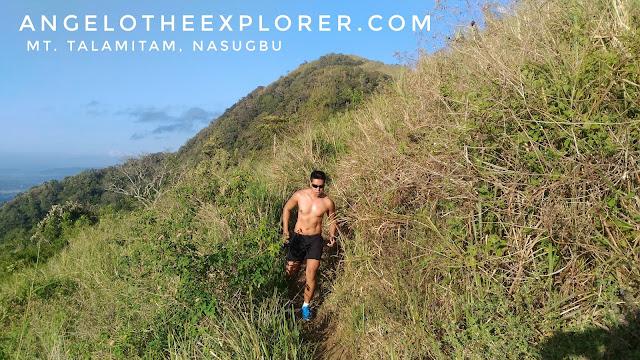 trail running in batangas
