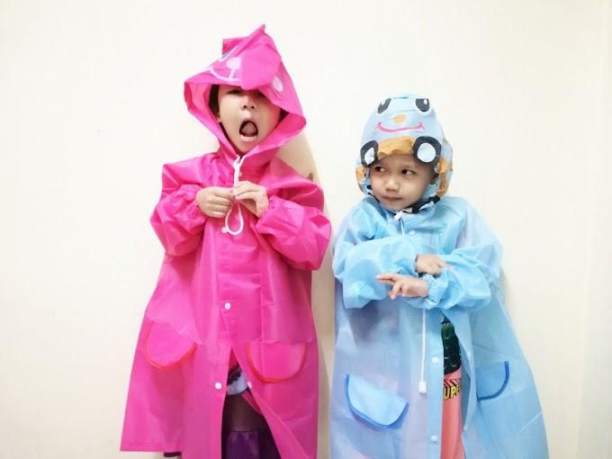 Baju Hujan a.k.a Raincoat For Kids !
