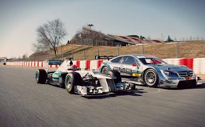 F1 VS DTM