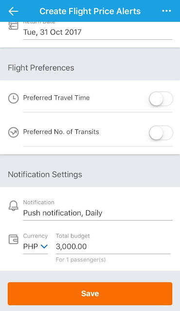 Get Notified about Cheap Airfares with Traveloka Price Alerts