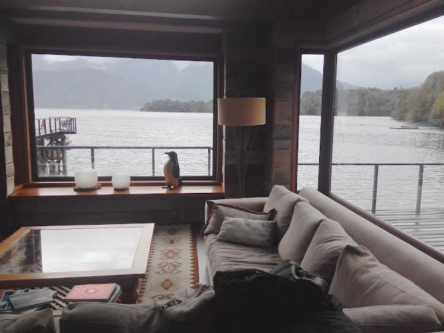 Hotel en fiordo Puyuhuapi, Chile