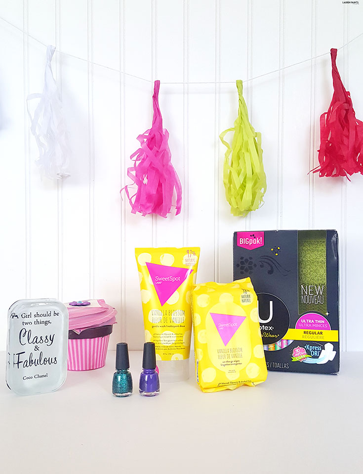 "Girls get to have all the fun! Find out how you can even make ""that time of the month"" a little bit more fun with these amazing SweetSpot & U by Kotex products... and SAVE some $$!"