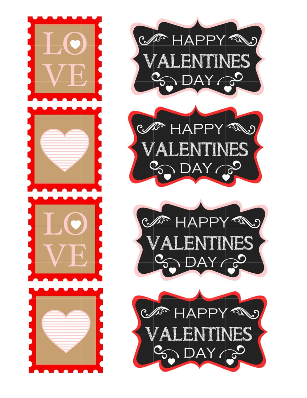 Valentine S Day See Through Jar With Free Printable