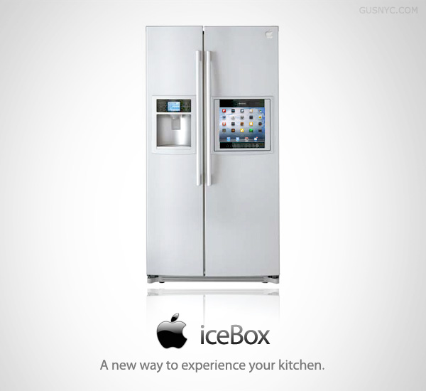 iceBox Concept Apple fridge image : Intelligent Computing