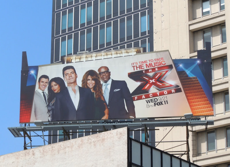 X Factor US remake billboard
