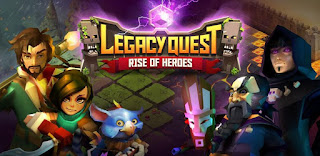 Legacy Quest Rise of Heroes APK v1.8.105 Mod Skill No Couldown Terbaru