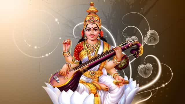 saraswati vandana shloka with hindi meaning