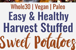 Harvest Paleo Vegan Stuffed Sweet Potatoes