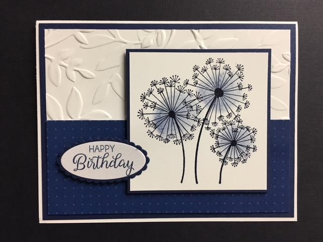 Dandelion Wishes Beautiful Bouquet Birthday Card