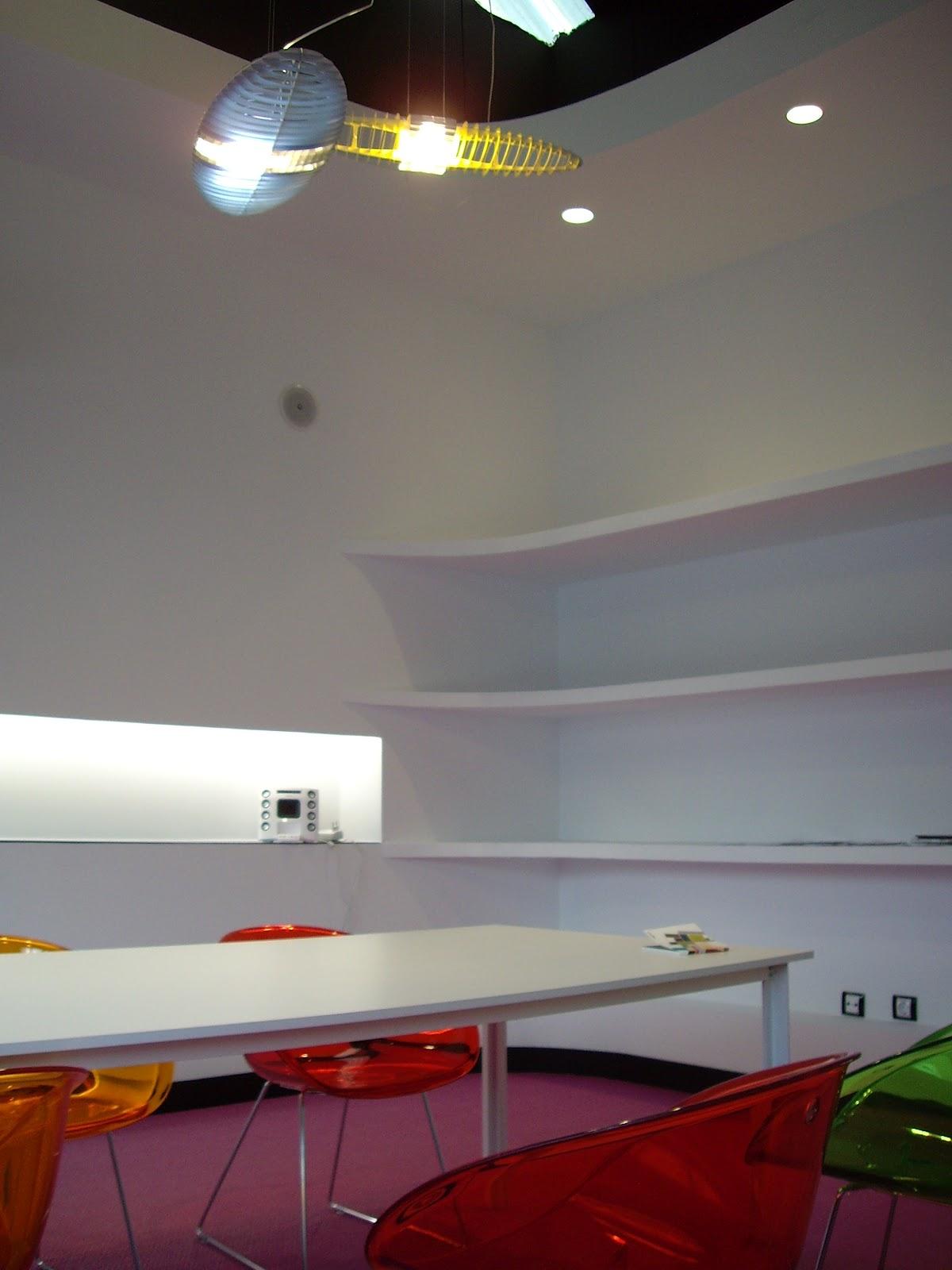 Nat dise o de espacios reforma de oficinas en nave for Oficinas de diseno industrial