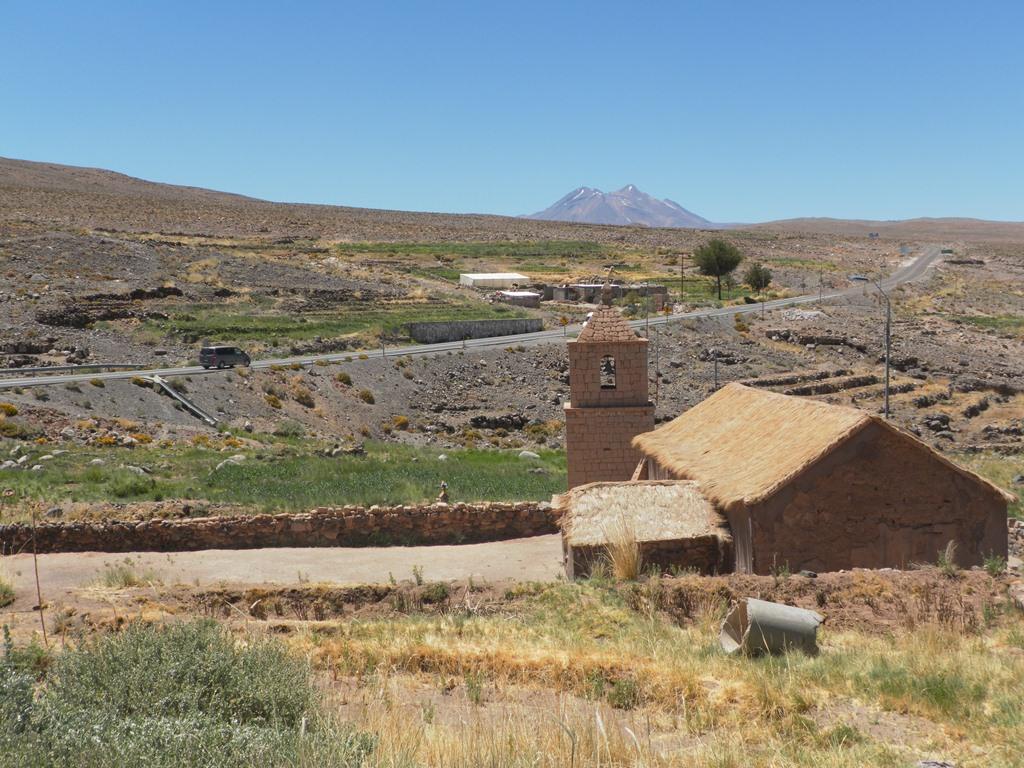 Pueblo Socaire no Atacama