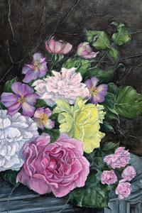 Claudine Lecoustre : Roses