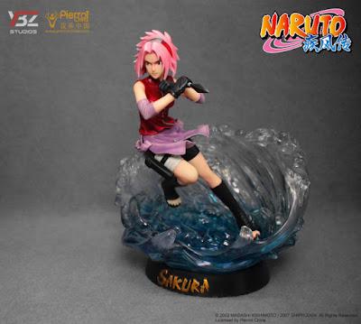 """Sakura Haruno 1/8 de """"Naruto Shippuden"""" - YBZ-Studio"""